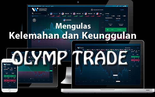 Mengulas keunggulan dan kelemahan Olymp Trade